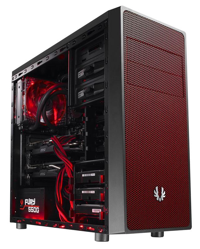 BitFenix Neos Black/Red ミドルタワー型PCケース (BFC-NEO-100-KKXSR-RP)