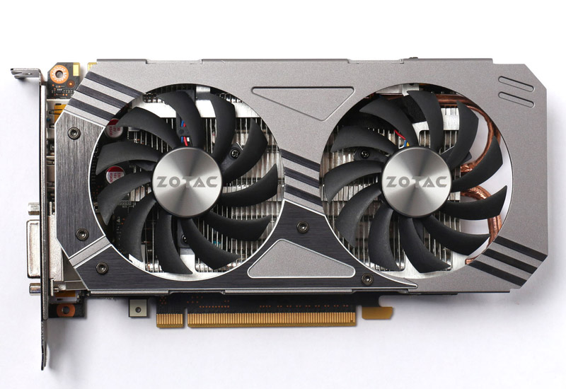 ZOTAC GeForce GTX 960 セミファンレス仕様のグラフィックスボード (ZTGTX96-2GD5R01/ZT-90302-10M)