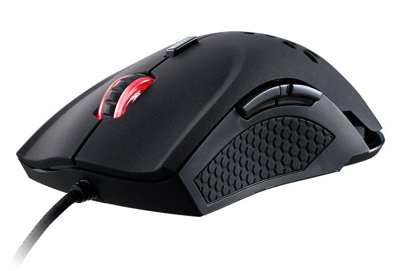 Thermaltake TT eSPORTS VENTUS X Mouse レーザー式ゲーミングマウス|MO-VEX-WDLOBK-01