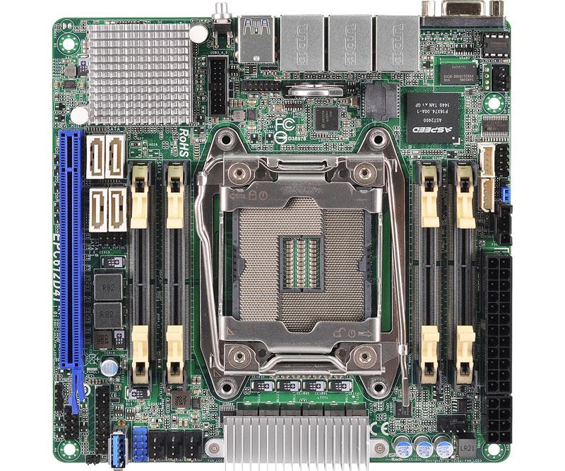 ASRock Rack LGA2011v3対応サーバー向けMini-ITXマザーボード (EPC612D4I)