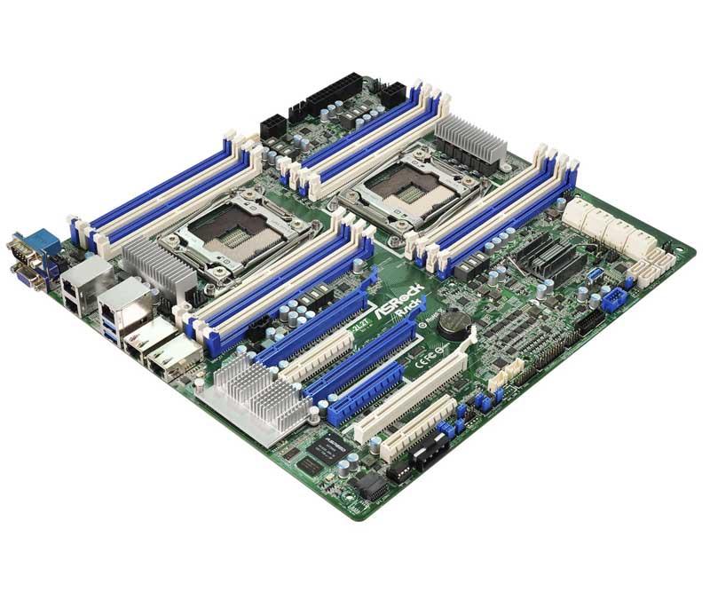 ASRock Rack LGA2011 R3 Intel Xeon E5-2600/4600 v3対応SSI EEBサーバー向けマザーボード(EP2C612D16-2L2T)