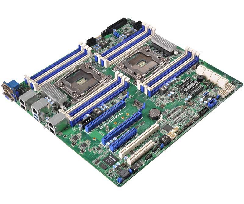 ASRock Rack LGA 2011 R3 Xeon processor E5-2600 v3 series対応サーバー向けマザーボード (EP2C612D16C-4L)