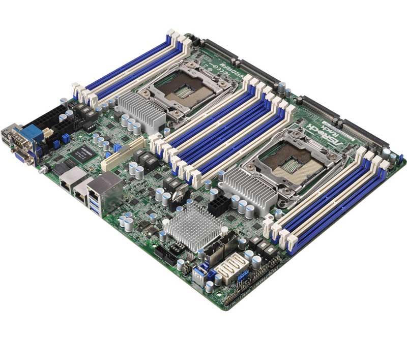 ASRock Rack  LGA2011-3 Xeon E5-2600/4600 v3シリーズ対応SSI CEBサーバー向けマザーボード (EP2C612D16FM)