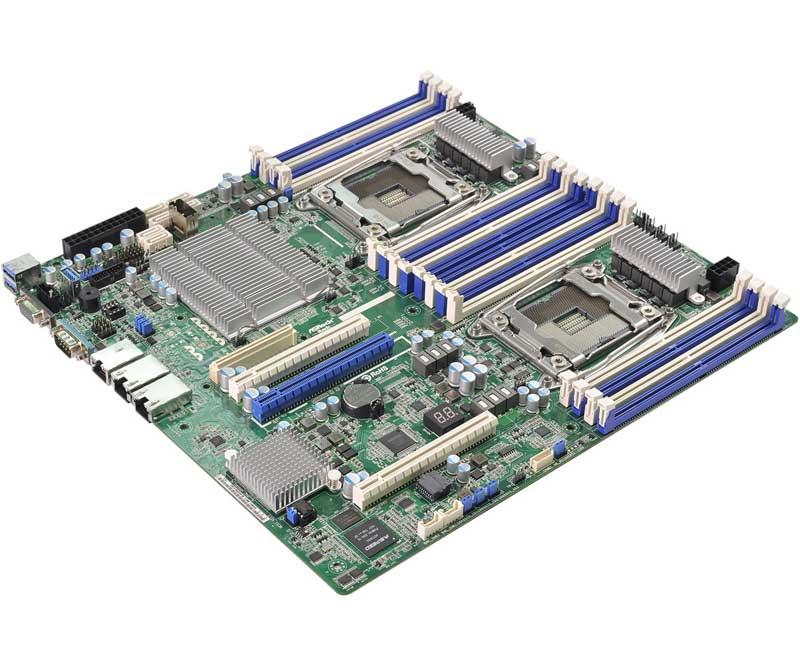 ASRock Rack 2011-3 Xeon processor E5-2600/4600 & v3 series サーバー向けマザーボード (EP2C612D16NM-2T)