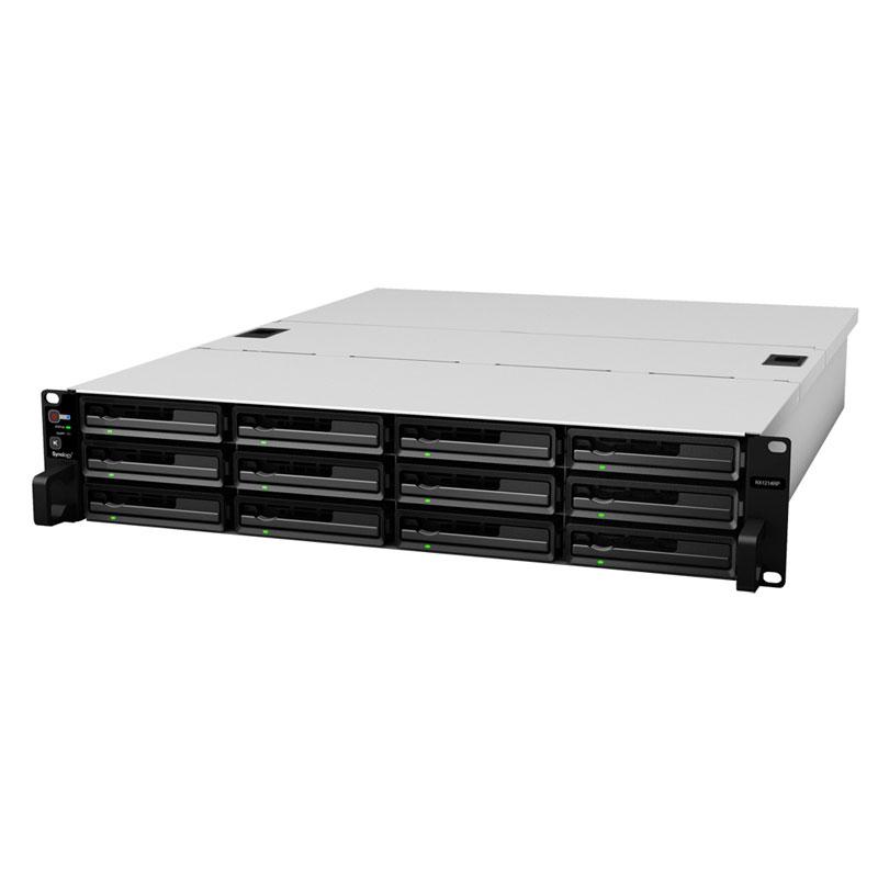 Synology RackExpansionユニット 冗長電源 2U 12ベイ拡張オプション (RX1214RP)