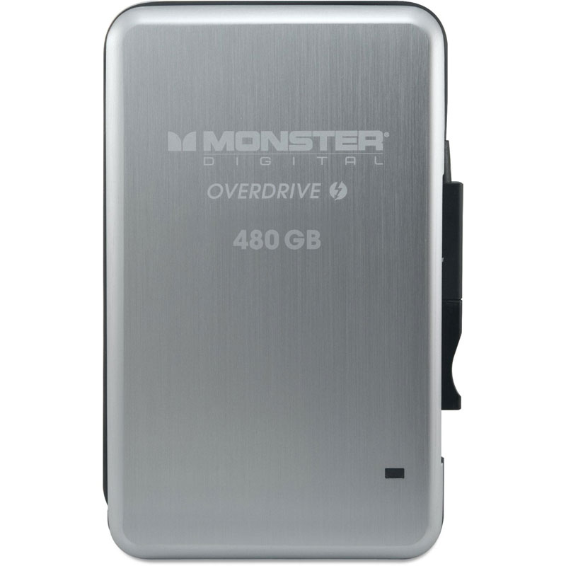 Monster Digital OverDrive Thunderbolt 480GB 外付けSSD (SSDOT-0480-J)
