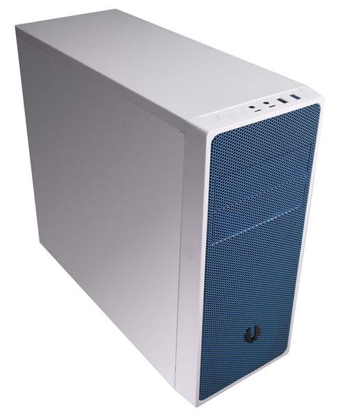 BitFenix Neos エアフローを重視し、メンテナンス性に優れたミドルタワー型PCケース White/Blue (BFC-NEO-100-WWXKB-RP)