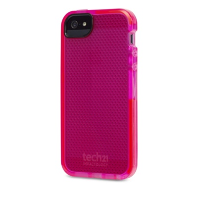 Tech21 D3O Impact Mesh for iPhone 5/5s ケース ピンク (T21-2158)