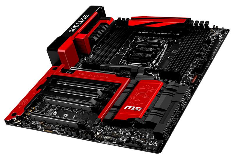 MSI X99A GODLIKE GAMING フルカラーLED搭載イルミネーションを楽しめるゲーミングExtended ATXマザーボード (X99A GODLIKE GAMING)