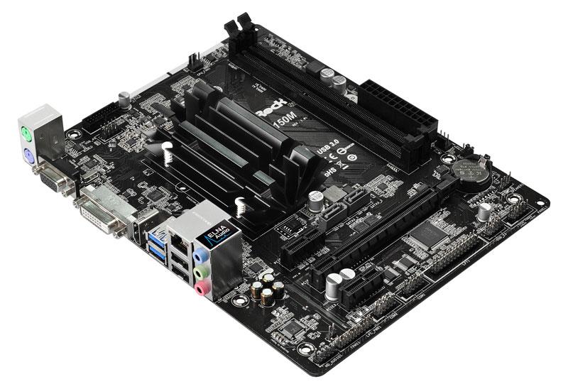 ASRock インテルCeleron N3150オンボード搭載Micro ATXマザーボード (N3150M)