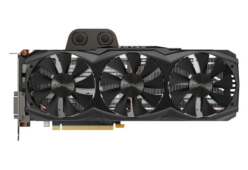 ZOTAC GeForce GTX 980 Ti ArticStorm 空冷と水冷のハイブリッドクーラー仕様のグラフィックスボード (ZT-90502-10P)
