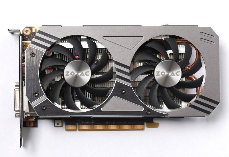 ZOTAC Geforce GTX 950 2GB DDR5 ツインファン NVIDIA GeForce GTX 950搭載セミファンレス仕様ビデオカード (ZTGTX95DF-2GD5R01/ZT-90602-10M)