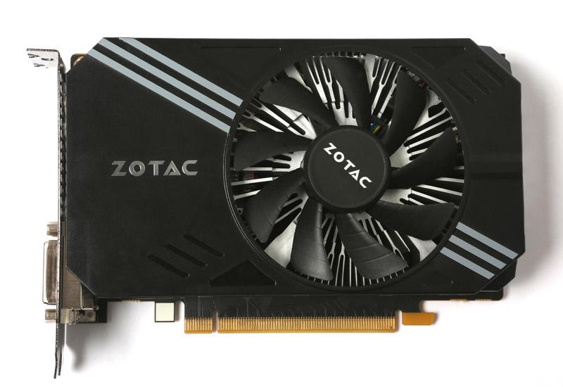 ZOTAC GeForce GTX 950 シングルファン NVIDIA GeForce GTX 950搭載ショートサイズビデオカード (ZTGTX95SF-2GD5R01/ZT-90601-10L)