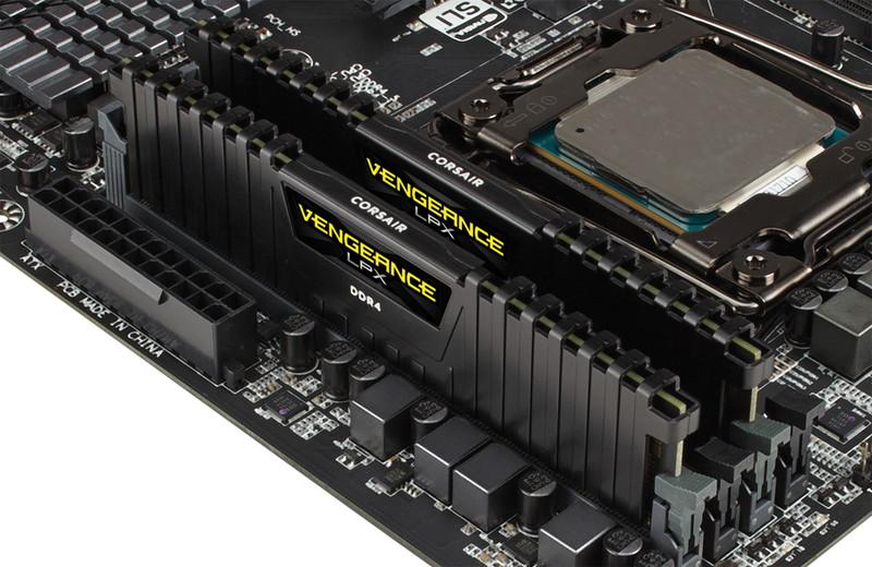 Corsair 16GB(8GBx2) DDR4 3000MHz(PC4-24000) VENGEANCE LPX 永久保証  CMK16GX4M2B3000C15