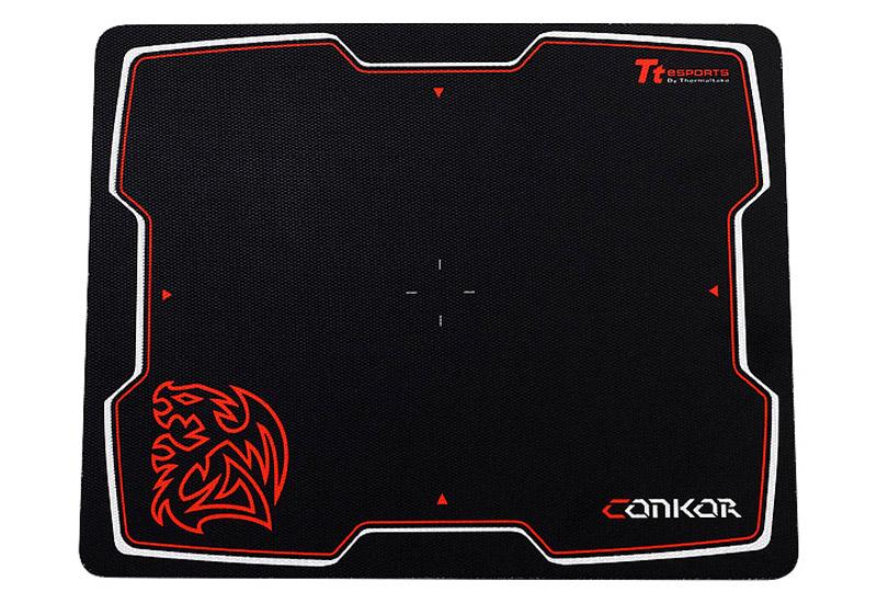 Thermaltake TteSPORTS CONKOR ゲーミングマウスパッド ブラック (EMP0001CLS)