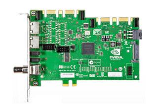 NVIDIA Quadro Sync 最大4枚までのQuadroグラフィックスボードを同期可能なオプションボード (QUADRO SYNC)