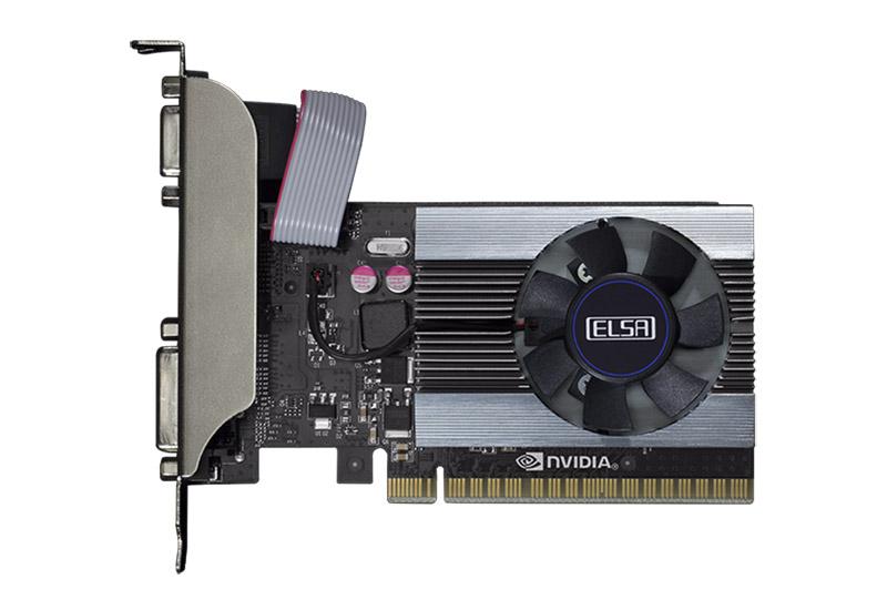 ELSA GeForce GT 710 LP 1GB 3画面同時出力可能ビデオカード (GD710-1GERL)