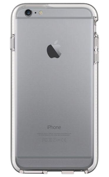 Tech21 Evo Band for iPhone 6 Plus/6s Plus  耐衝撃ケース クリア/ホワイト (T21-5011)