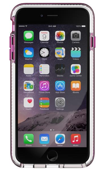 Tech21 Evo Band for iPhone 6 Plus/6s Plus  耐衝撃ケース ピンク/ホワイト (T21-5012)