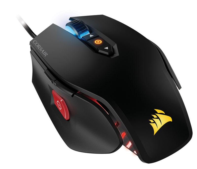 Corsair M65 PRO RGB 12000dpi FPSに特化したゲーミングマウス ブラック  CH-9300011-NA