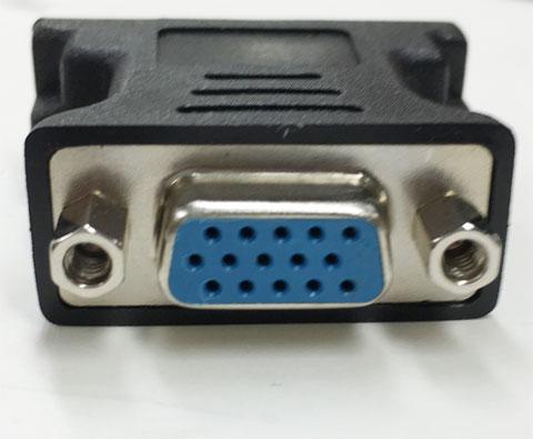 DVI to VGA 変換コネクタ アナログ ROHS 新品バルク 10個セット|240-30006-0000F