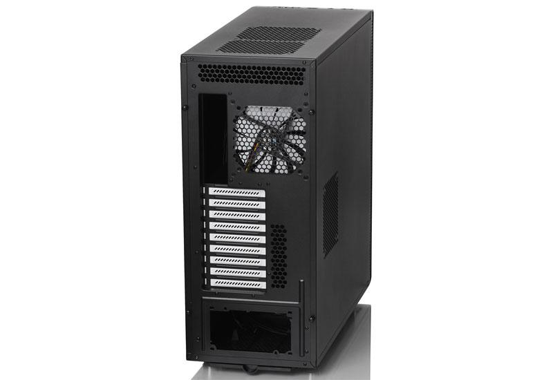 【アウトレット特価・新品】Fractal Design Define XL R2 Black 高い拡張性と防音性を備えたフルタワー型PCケース ブラック (FD-CA-DEF-XL-R2-BL)