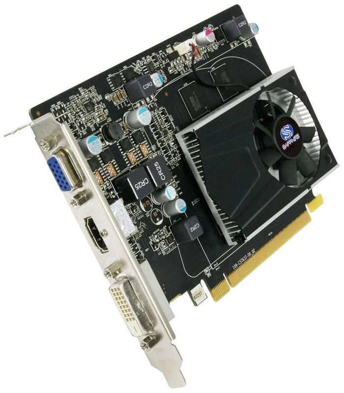 Sapphire R7 240 1G GDDR5 PCI-E HDMI / DVI-D / VGA WITH BOOST (11216-01-20G/SA-R7240-1GD5R01)