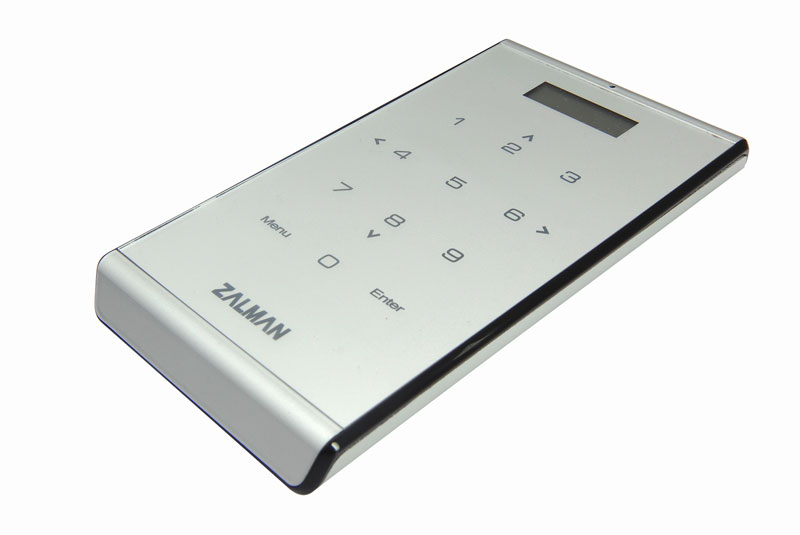 ZALMAN DVD、Blu-rayなどの仮想ドライブとしても使用可能なハードディスクケース (ZM-VE400-SL)