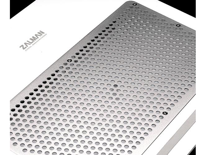 ZALMAN NOTEBOOK COOLER  ZM-NC1500 ホワイト 空気力学設計で騒音を最小化させたノートブッククーラー (ZM-NC1500W)
