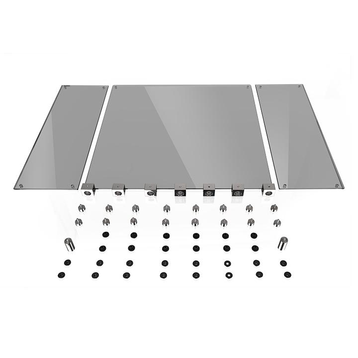 Thermaltake Core P5用 アップグレードキット 4面強化ガラス|AC-043-ONONAN-C1