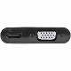 StarTech DisplayPort-HDMI/VGA 変換アダプタ 4K/60Hz対応 Mac/Windows対応 2-in-1式アダプタ DP2VGAHD20
