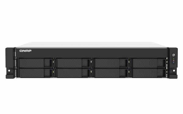 QNAP TS-853DU-RP Intelクアッドコア2.0GHz NAS 2U/8ベイ/Celeron J4125 2.0GHz/4GBメモリ(1×4GB)/2×2.5G LAN|TS-853DU-RP