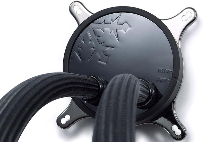 Fractal Design Celsius S24 240mmラジエーター装備 消音素材採用 水冷一体型CPUクーラー|FD-WCU-CELSIUS-S24-BK