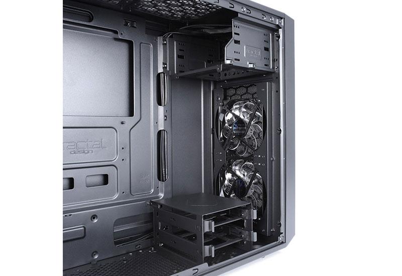 Fractal Design Focus G Black Window フロントメッシュパネル採用ミドルタワー型ATX PCケース|FD-CA-FOCUS-BK-W