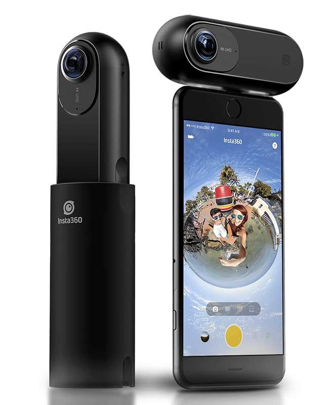 Insta360 ONE 超高画質4K 2400万画素360度カメラ