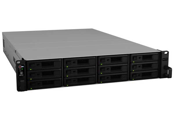 Synology RackStation RS3617RPxs クアッドコアXEON D-1521搭載12ベイラックマウントNAS|RS3617RPxs