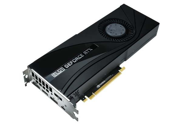 ELSA GeForce RTX 2080 Ti ST 2スロットサイズ設計グラフィックボード|GD2080-11GERTST