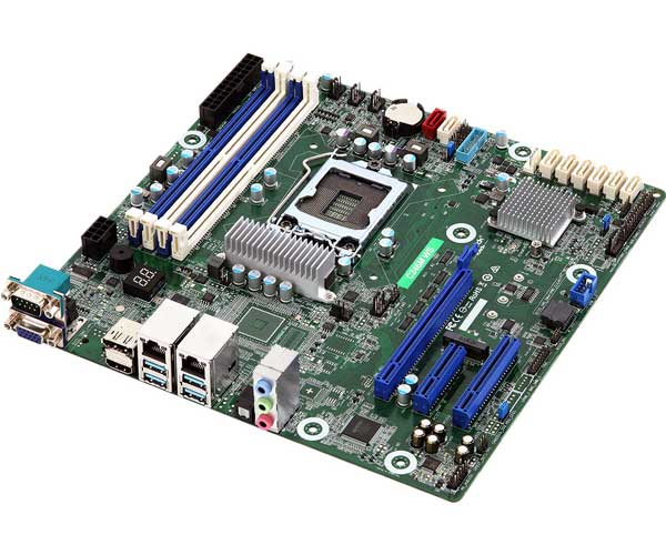 ASRock Rack XeonE-2100対応 mATXマザーボード  C246mWS