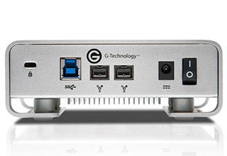 G-Technology G-DRIVE USB3.0 4TB USB 3.0、FireWire800 プロ向け外付けHDD |0G02759