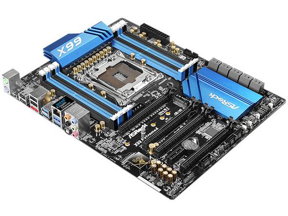 ASRock インテルX99チップセットを搭載したATX規格マザーボード (X99 Extreme4)