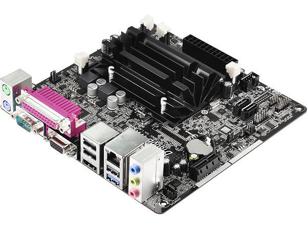 ASRock デュアルコア J1800 をオンボードで搭載したMini-ITX マザーボード D1800B-ITX