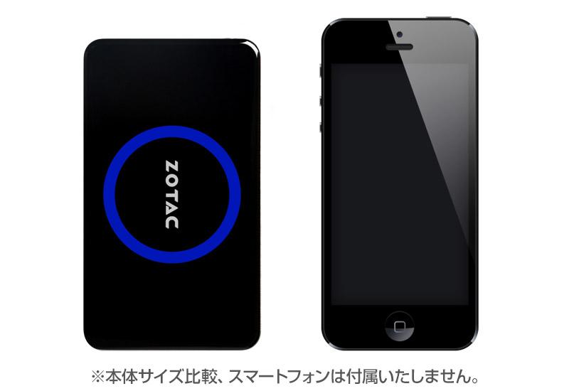 ZOTAC ZBOX  pico Win8.1 with Bing ポケットサイズのコンパクトパソコン(64GBモデル) (PI321)