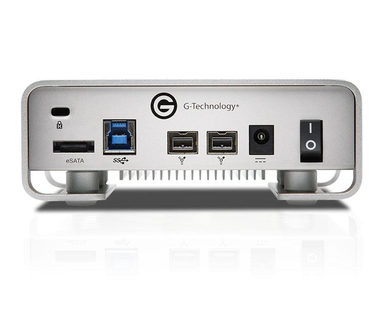 G-Technology G-DRIVE (Gen 6) 4TB  USB 3.0/2.0、eSATA、FireWire800 (0G02930)