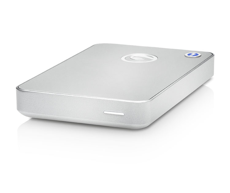 G-Technology G-DRIVE mobile Thunderbolt USB 3.0 1TB Silver JP (0G03043)