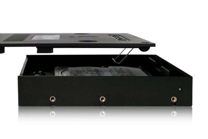 Cremax 2.5インチSATA 3 SSD & HDD搭載用3.5インチサイズ変換コンバーターキット (MB882SP-1S-2B)
