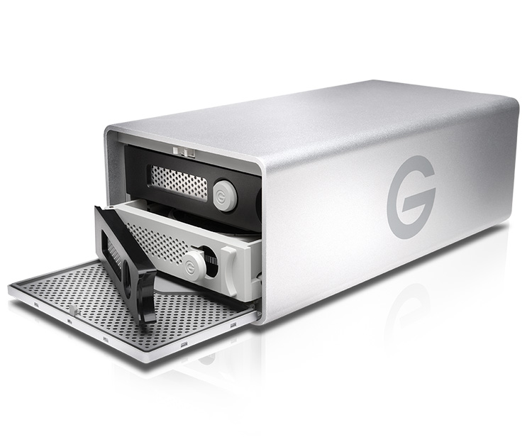 G-Technology G-RAID Removable 8TB Silver JP (0G03247)