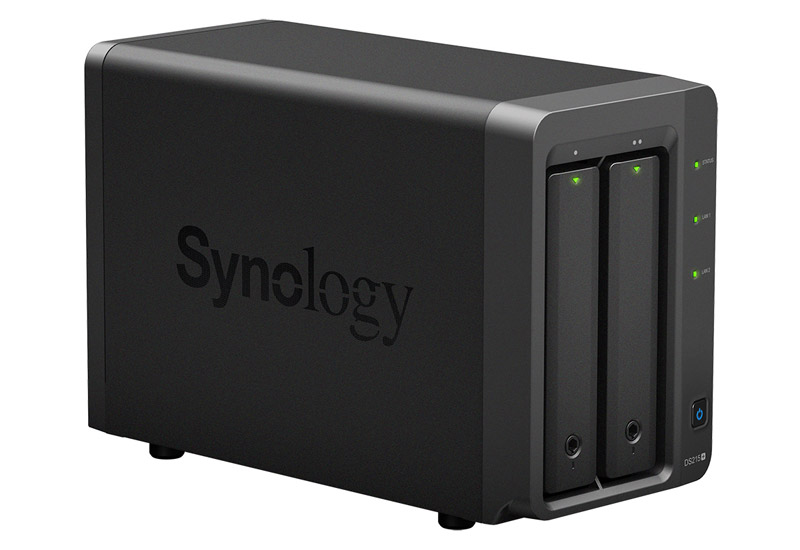 Synology DiskStation DS215+ デュアルコアCPU搭載 高性能2ベイNASサーバー (DS215+)