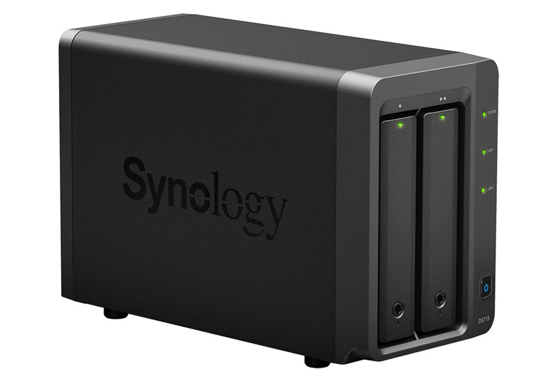Synology DiskStation DS715 クアッドコアCPU搭載バリューシリーズ 2ベイNASサーバー (DS715)