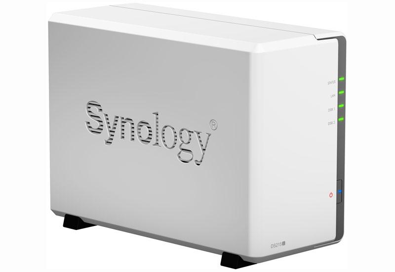 Synology DiskStation DS215j デュアルコアCPU搭載多機能2ベイNASキット (DS215j)