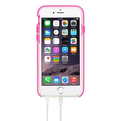 Tech21 Evo Band for iPhone 6/6s 衝撃吸収バンパーケース ピンク/ホワイト (T21-5002)